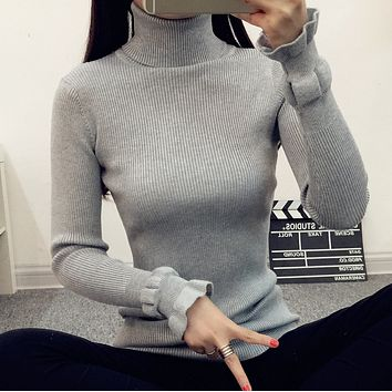 Slim slim turtleneck