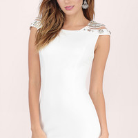 Pure Jewel Bodycon Dress $92