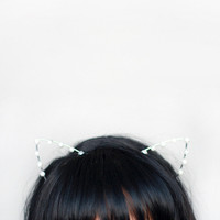 Lo-fi Cat Ears Headband
