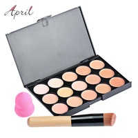 15 Color Pro Concealer Face Primer Cream Contour Palette Make Up Facial Contouring Palette Makeup Corrector Base Palette 1439319