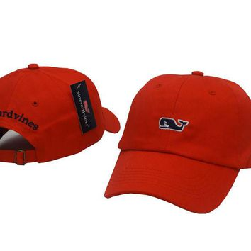 Vineyard Vines Women Men Embroidery Sports Sun Hat Baseball Cap Hat-9