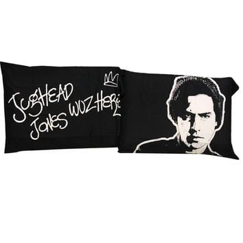 Riverdale Jughead Wuz Here 20x30 inch 50x75cm bedding pillowcase for sleeping 2 Piece Pocket Pillow cover printing pillowcases