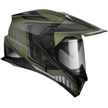 Zoan MX Synchrony Duo-Sport Helmet - Tourer Graphics