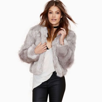 Mara Faux Fur Jacket