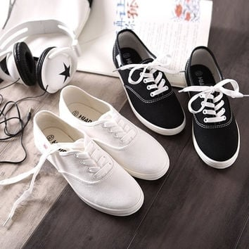 SALE 9 colors Free shipping 2015 new fashion style hot-selling candy color lacing vintage women's canvas casual  canvas shoes