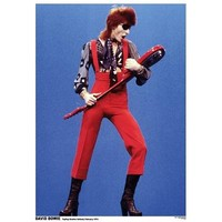 David Bowie Holland 1974 Music Poster