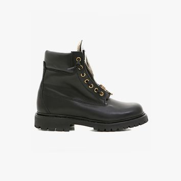 Balmain - Taiga ranger leather boots - Women's low boots