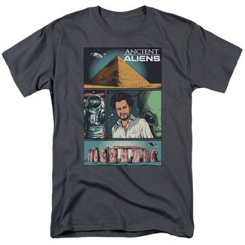 Ancient Aliens - Aliens Comic Page Short Sleeve Adult 18/1