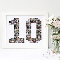 25th Anniversary, 30th Anniversary, 50th Anniversary, Anniversary Photo Collage, Photo Display, Photo Collage, Digital Printable File