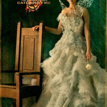 "Hunger Games Catching Fire Movie Poster 16""x24"""