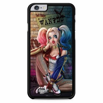 Harley Quinn Espresso Coffee 2 iPhone 6 Plus / 6s Plus Case