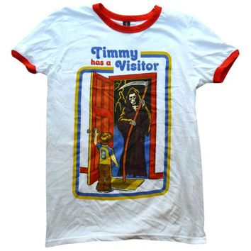 Timmy Has A Visitor Ringer Shirt
