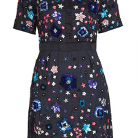 **LIMITED EDITION Embellished Organza Shift Dress - Going Out Dresses - Dresses - Clothing - Topshop USA