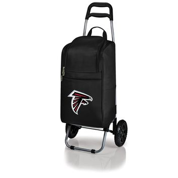 Atlanta Falcons - Cart Cooler with Trolley (Black)