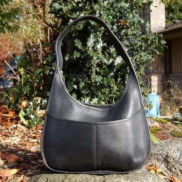 Coach Ergo Leather Crescent Hobo Bag
