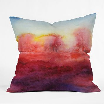 Jacqueline Maldonado Where I End Throw Pillow