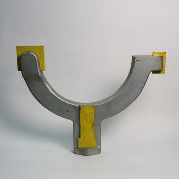 Large Letter Y Industrial Foundry Mold from New Orleans Foundry by RestorationHarbor
