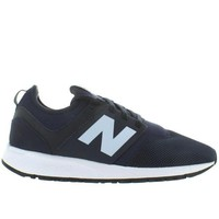 DCCK1IN new balance 247 navy mesh slip on lifestyle sneaker