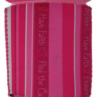 Lot of 16 Faith Breast Cancer Fight For The Cure Can Insulator Cooler Holder