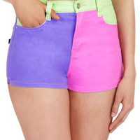 Mink Pink It's All Good Shorts | Mod Retro Vintage Shorts | ModCloth.com