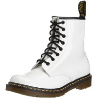 Dr. Marten's Women's 1460 8-Eye White Patent Leather Patent Leather Boots - 7 F(M) UK / 9 B(M) US Women / 8 D(M) US Men