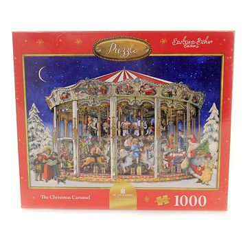 Christmas THE CHRISTMAS CAROUSEL PUZZLE Paper 1000 Interlocking Pieces 14107