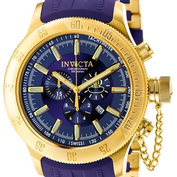 Invicta 6242 Men's Russian Divers Blue Dial Chronograph Watch