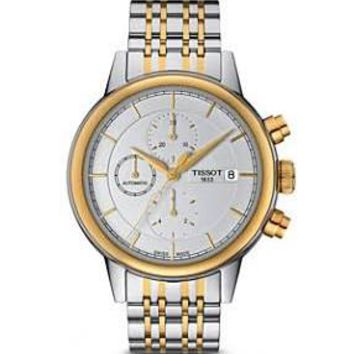 Tissot Carsons Mens Chronograph Automatic Watch T0854272201100