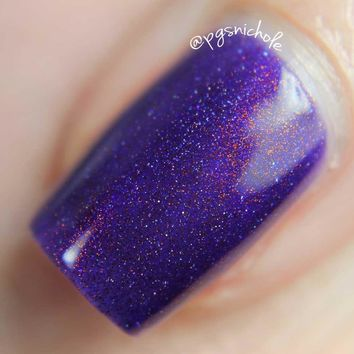 Gargantua - Purple Jelly with Holo and Copper Metallic Pigment
