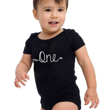 First Birthday Tshirt, Baby's First Birthday Clothes, Baby One Piece, 12-18 month Tshirt, 1st Birthday Bodysuit, 100% Cotton Babies Shirt