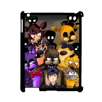 Five Nights At Freddys Fnaf And Friends iPad 2/3/4 Case