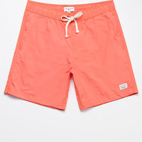"Modern Amusement Oliver Solid Color 18"" Swim Trunks at PacSun.com"