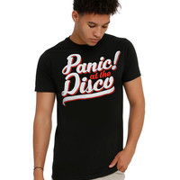 Panic! At The Disco Script Logo T-Shirt