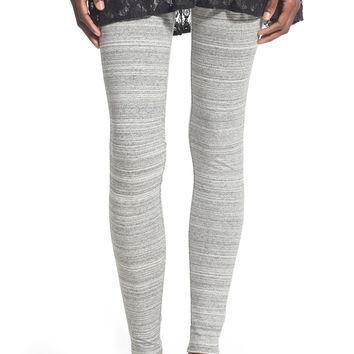 BP. Mélange Stretch Cotton Leggings | Nordstrom