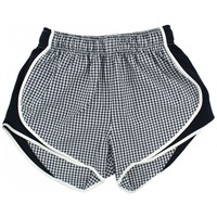 Shorties Shorts in Navy Gingham by Lauren James