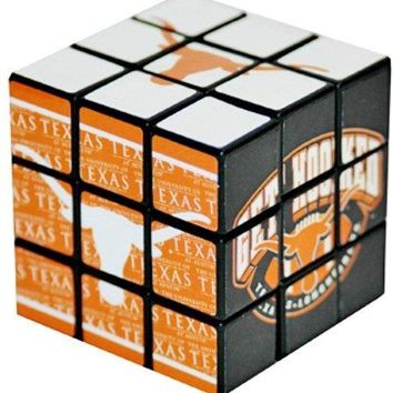 Texas Longhorns Horns Up Toy Puzzle Cube