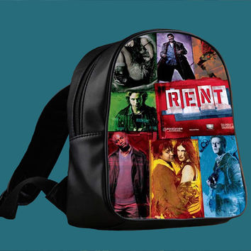 Rent Broadway Musical for Backpack / Custom Bag / School Bag / Children Bag / Custom School Bag ***