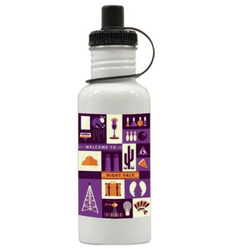 Gift Water Bottles | Supernatural Night Vale Art Aluminum Water Bottles