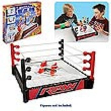 WWE Double Attack Total Control Takedown Ring Playset