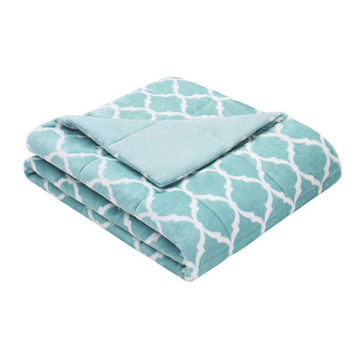 """60""""x70"""" Adult Weighted Blanket-Aqua-Weighted Blanket for Adult, Teen, Anxiety, PTSD, Insomnia, Autism, Aspergers,"""