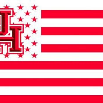 Houston Cougars 3' x 5' American Flag - 2 variations available