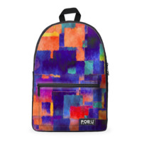 Painted Color Cotton Backpack