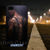 Divergent Tatoo For - iPhone 4 4S iPhone 5 5S 5C and Samsung Galaxy S3 S4 S5 Case