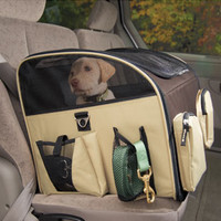 Dog Carrier: Pet Travel Carrier: Pet Gear Inc Carrier/Car Seat Booster