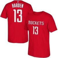 James Harden Houston Rockets #13 Red NBA Boys T-Shirt - Youth S, M, L, XL