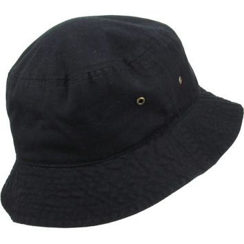 Bucket Hat Boonie Basic Hunting Fishing Outdoor Summer Cap Unisex 100% Cotton - Walmart.com