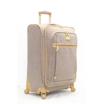 "Nicole Miller Taylor 28"" Expandable Spinner Suitcase"