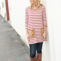 Suede Pocket Tunic - 2 Colors