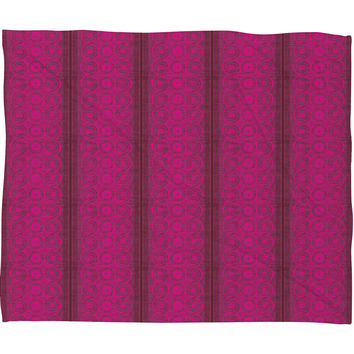 Caroline Okun Biskra Fleece Throw Blanket