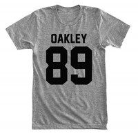 Oakley 89 - For fangirl & fanboy - Gray/White Unisex T-Shirt - 111